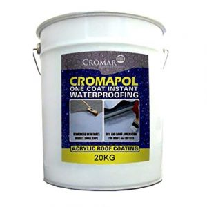 Cromapol Acrylic Roof Coat - 20kg, White