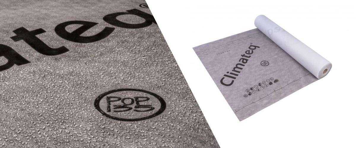 3 Reasons to Buy Climateq POP Breather Membrane