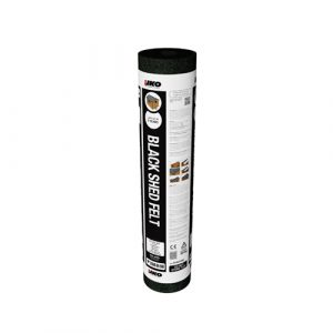 IKO Shed Felt - Black 8m Roll