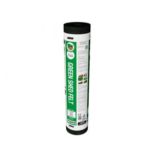 IKO Shed Felt - Green 10m Roll