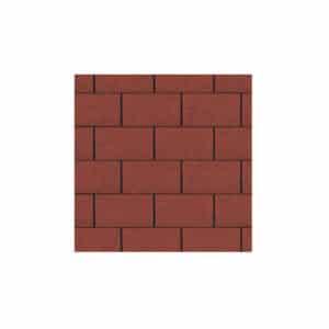 Red Roofing Felt Shingles 3Tab