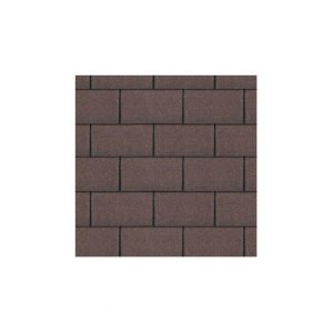 Brown Roofing Felt Shingles 3Tab