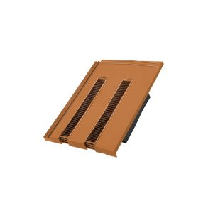 Hambleside Danelaw TV15/1 Flush Fitting Tile Vent - Terracotta