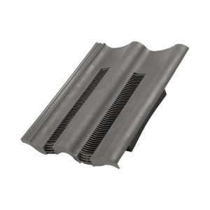 Grey double pantile vent