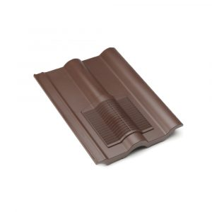 Profile-Line Brown Double Roman Roof Vent