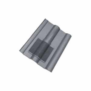 Slate Grey Double Roman Roof Vent