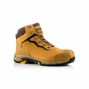 Buckbootz BLITZ Lightweight Waterproof Honey Safety Lace Boot