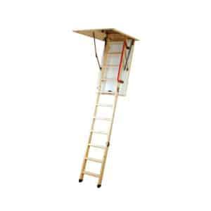 Youngman Eco S Line Folding Timber Loft Ladder (34535000)