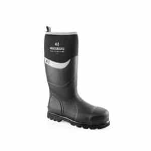 Black Neoprene Wellington Boot