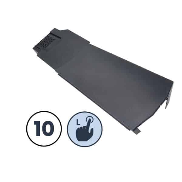10 x Left Hand Klober Contract Dry Verge Unit, Grey