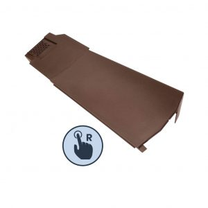 Right Hand Klober Contract Dry Verge Unit, Brown