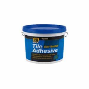 Everbuild 702 Water Resistant Tile Adhesive – 7.5kg