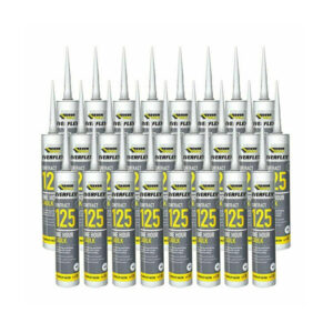 25 x Everflex Contract 125 One Hour Caulk, White