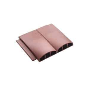 Klober Terracotta Twin Plain Tile Vent