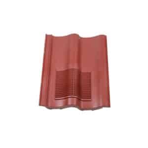 Klober Double Pantile Vent - Antique Red