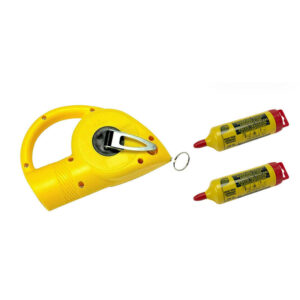 Armatool Chalk Line – 30m with 2 Red Chalk Refills