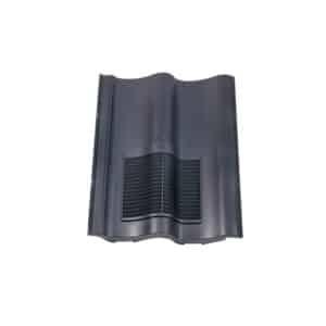 Klober Double Pantile Vent - Slate Grey