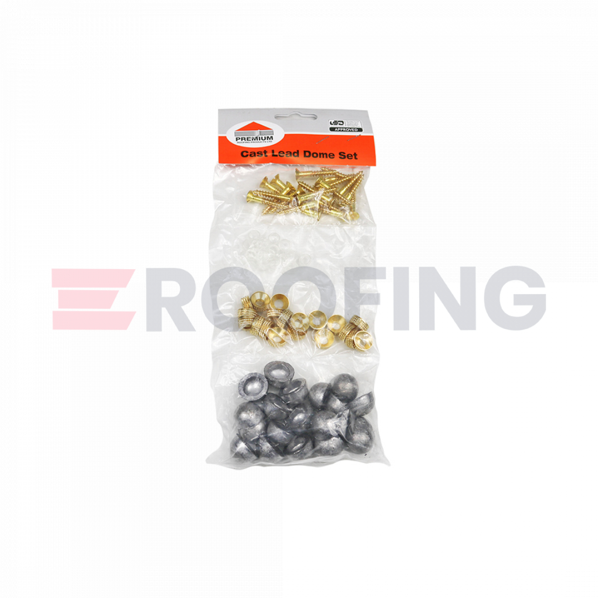 Cast Lead Dome Set - Pack of 20