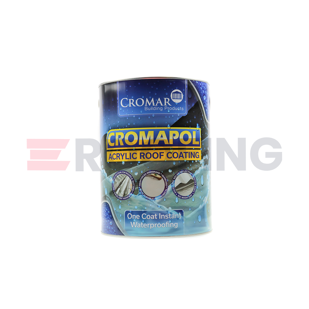 Cromapol Acrylic Roof Coat - 5kg