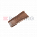 Easy Trim Universal Dry Verge System - Grey/Brown